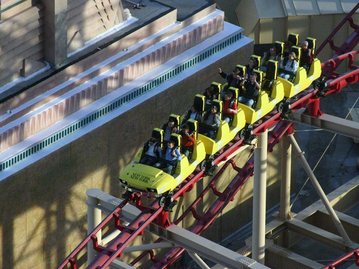 Socail Media Roller Coaster