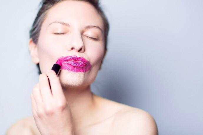 Lipstick Lady